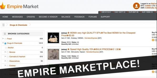 Empire Darknet Market