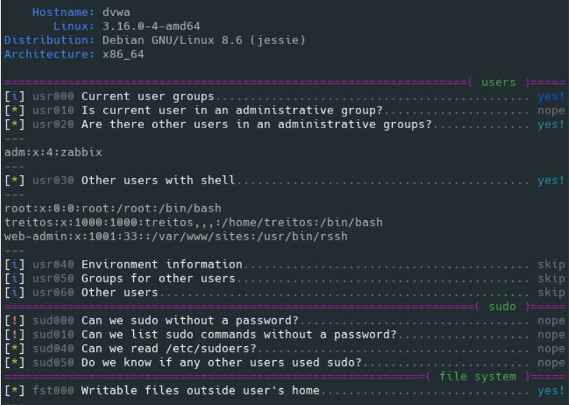 Linux Smart Enumeration –  Enumeration Tool for Pentesting and CTFs with Verbosity Levels