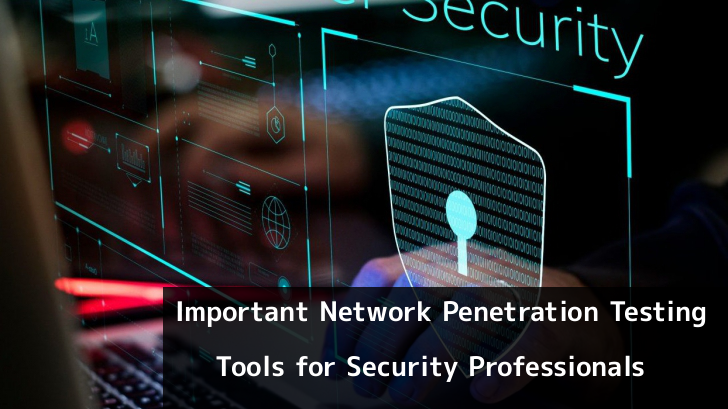 Network Penetration Testing Tools for Hackers and Security Professionals
