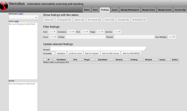 Seccubus – Automated Vulnerability Scanning, Reporting And Analysis Tool