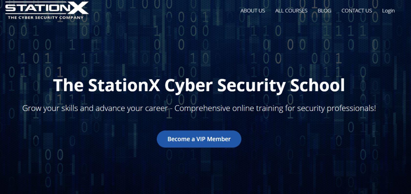 StationX – Cyber Security School