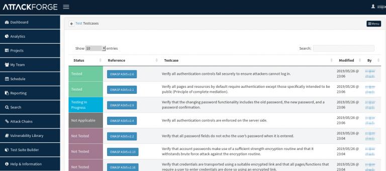 AttackForge – Penetration Testing Platform