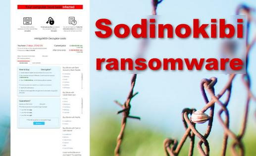 GandCrab Out – Sodinokibi In! Meet The Latest Ransomware