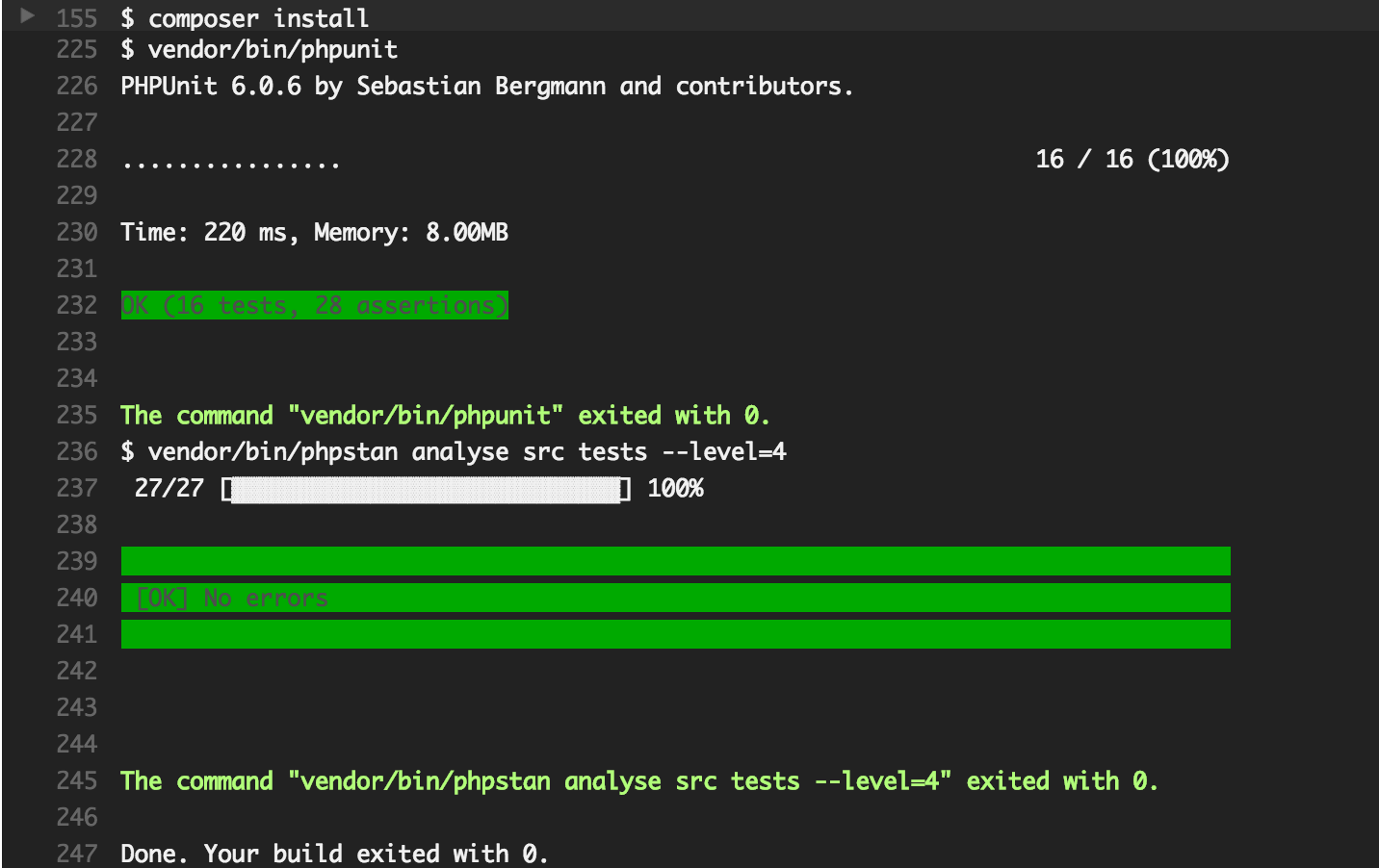 PHPStan – PHP Static Analysis Tool