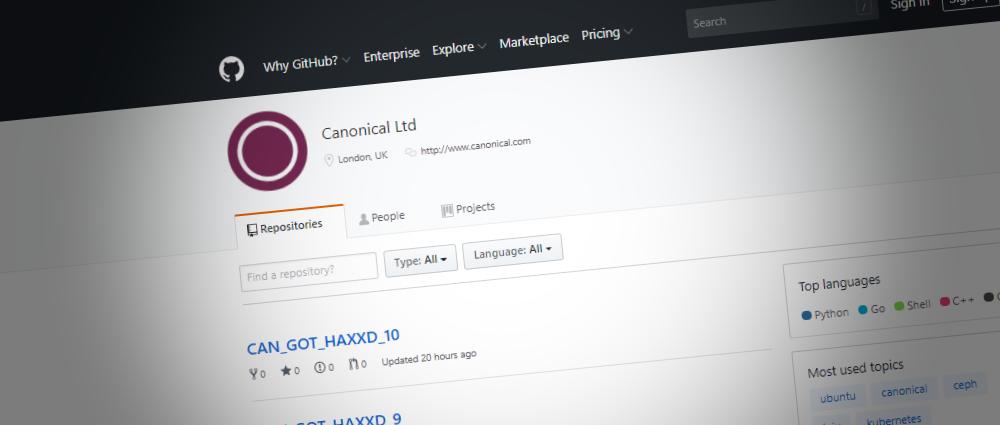 Canonical GitHub account hacked, Ubuntu source code safe