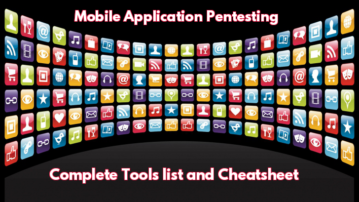 Most Important Mobile Application Penetration Testing Cheat sheet with Tools & Resources for Security Professionals