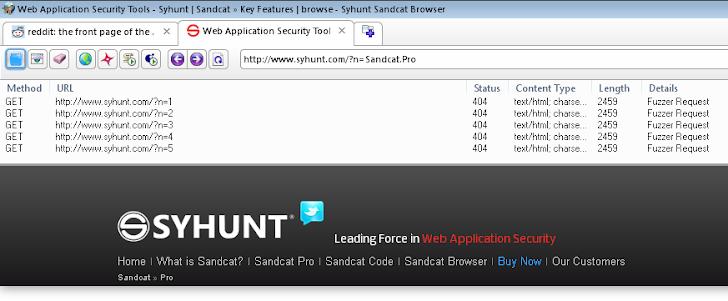 Sandcat -The Pen Tester's Web Browser