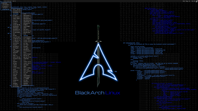 BlackArch Linux v2019.09.01 – Penetration Testing Distribution