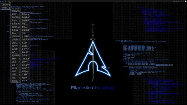 BlackArch Linux v2019.09.01 – Penetration Testing Distribution