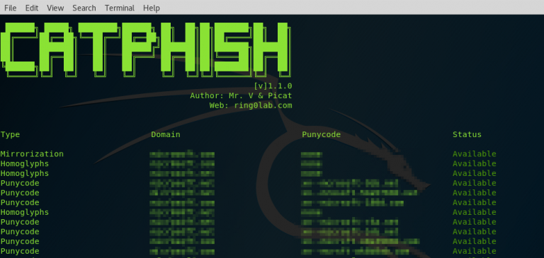 CATPHISH – Phishing and Corporate Espionage