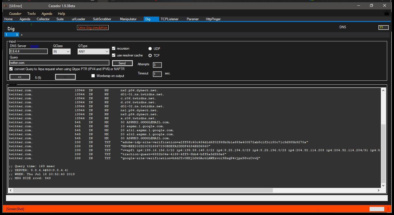 Cazador – WebApp Pentest Toolkit