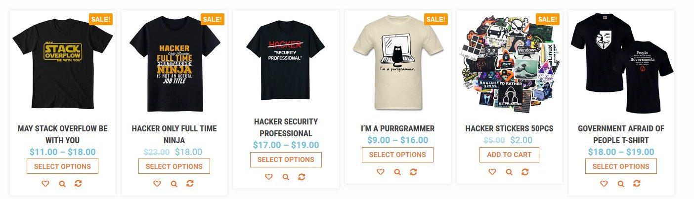 hacker swag