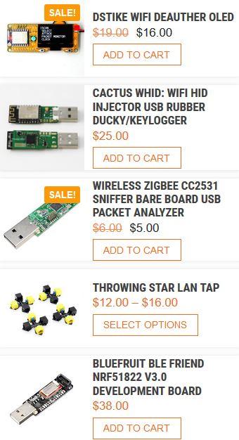 hacker gadgets