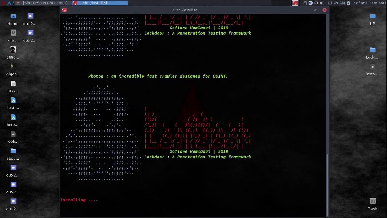 Lockdoor – All in One Penetration Testing Framework