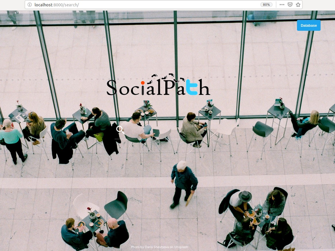 SocialPath – Track users across Social Media Platforms