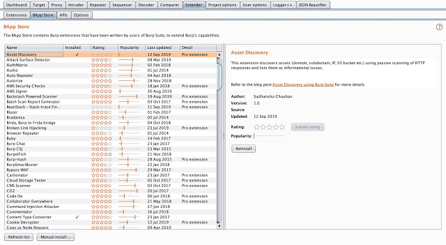 Asset Discover - Burp Suite Extension To Discover Assets From HTTP Response