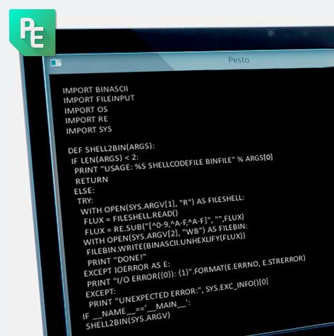 PESTO – PE (files) Statistical Tool