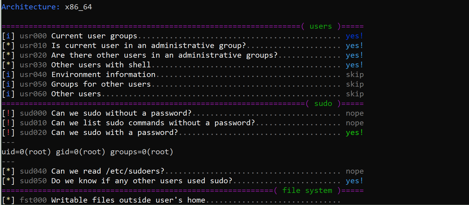 linux-smart-enumeration v1.9 releases: Linux enumeration tools for pentesting and CTFs