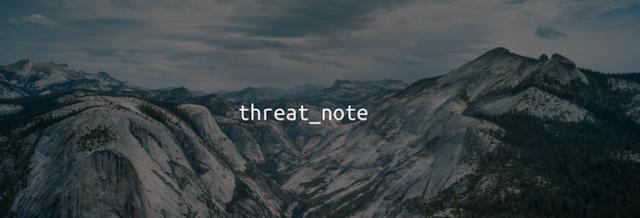 threat_note – DPS' Lightweight Investigation Notebook