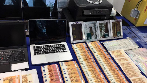 Eleven Arrested in International Counterfeit Euro Operation