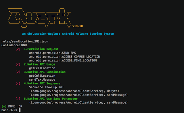 Quark-Engine – An Obfuscation-Neglect Android Malware Scoring System