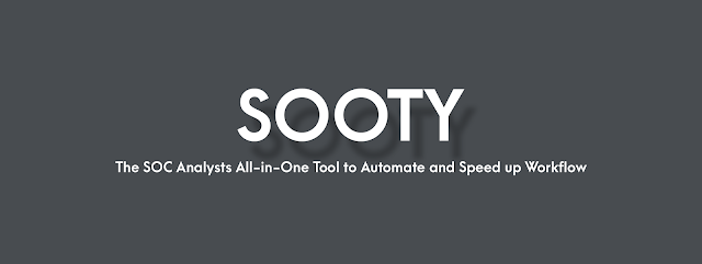 Sooty – The SOC Analysts All-In-One CLI Tool To Automate And Speed Up Workflow