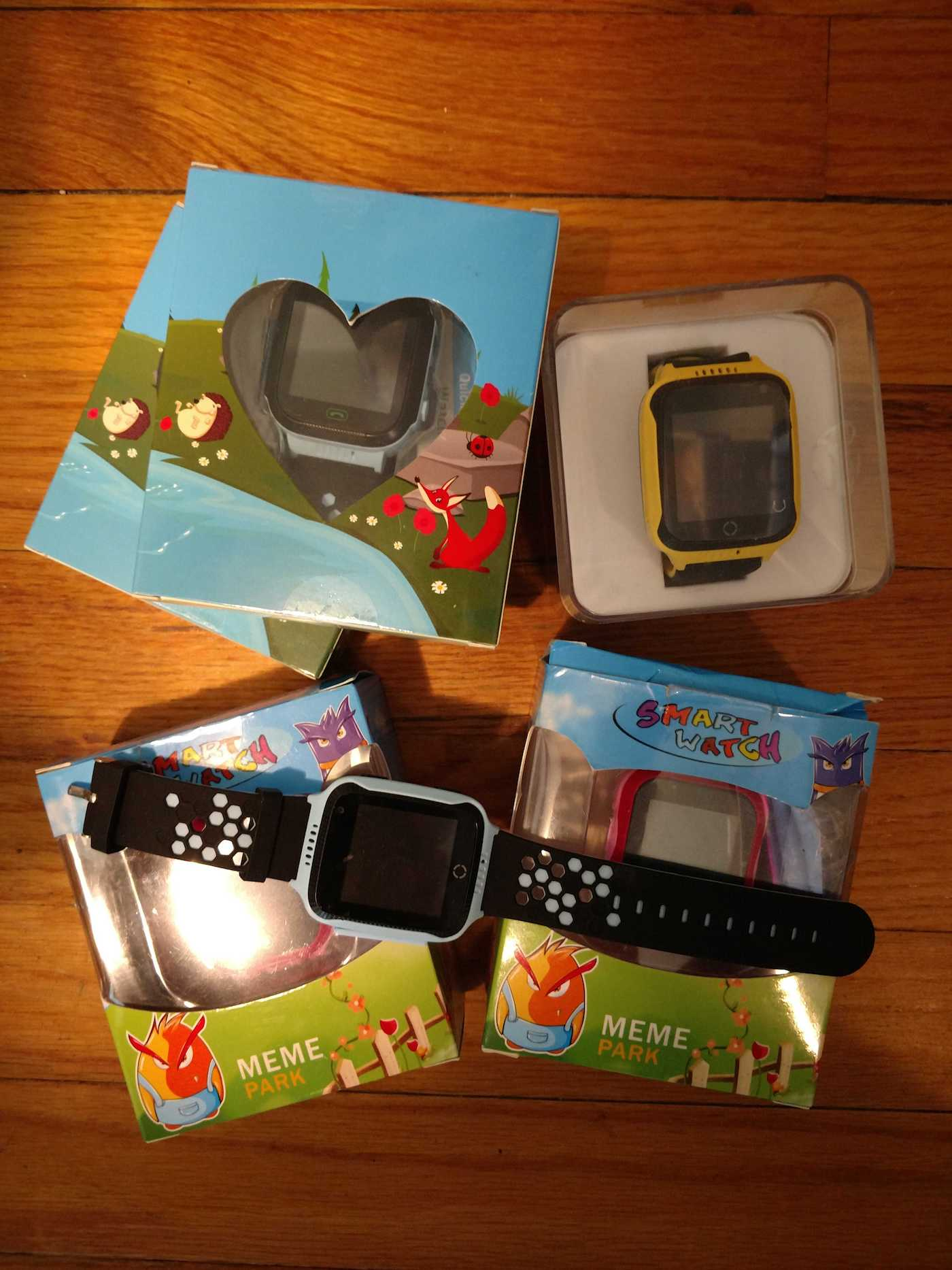 The children's smartwatches exist vulnerability that discloses GPS smartwatches
