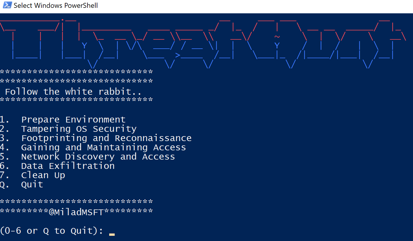 ThreatHunt: PowerShell repository to train your threat hunting skills