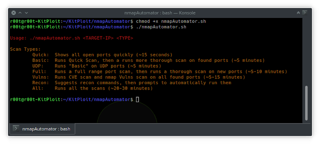 nmapAutomator – Tool To Automate All Of The Process Of Recon/Enumeration