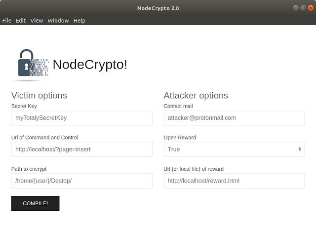 nodeCrypto v2.0 – Ransomware Written In NodeJs