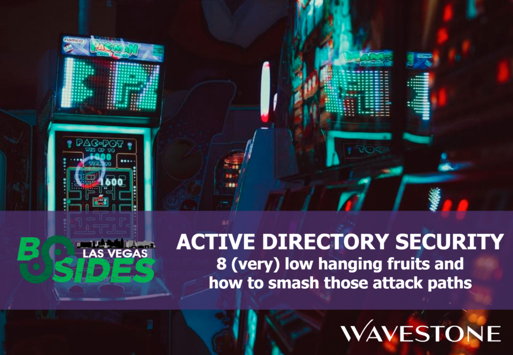 Active Directory security workshops