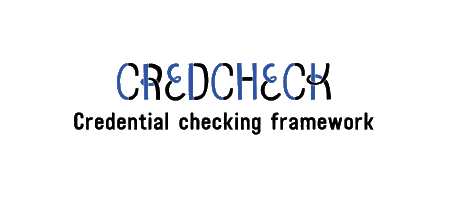 credcheck: Credentials Checking Framework