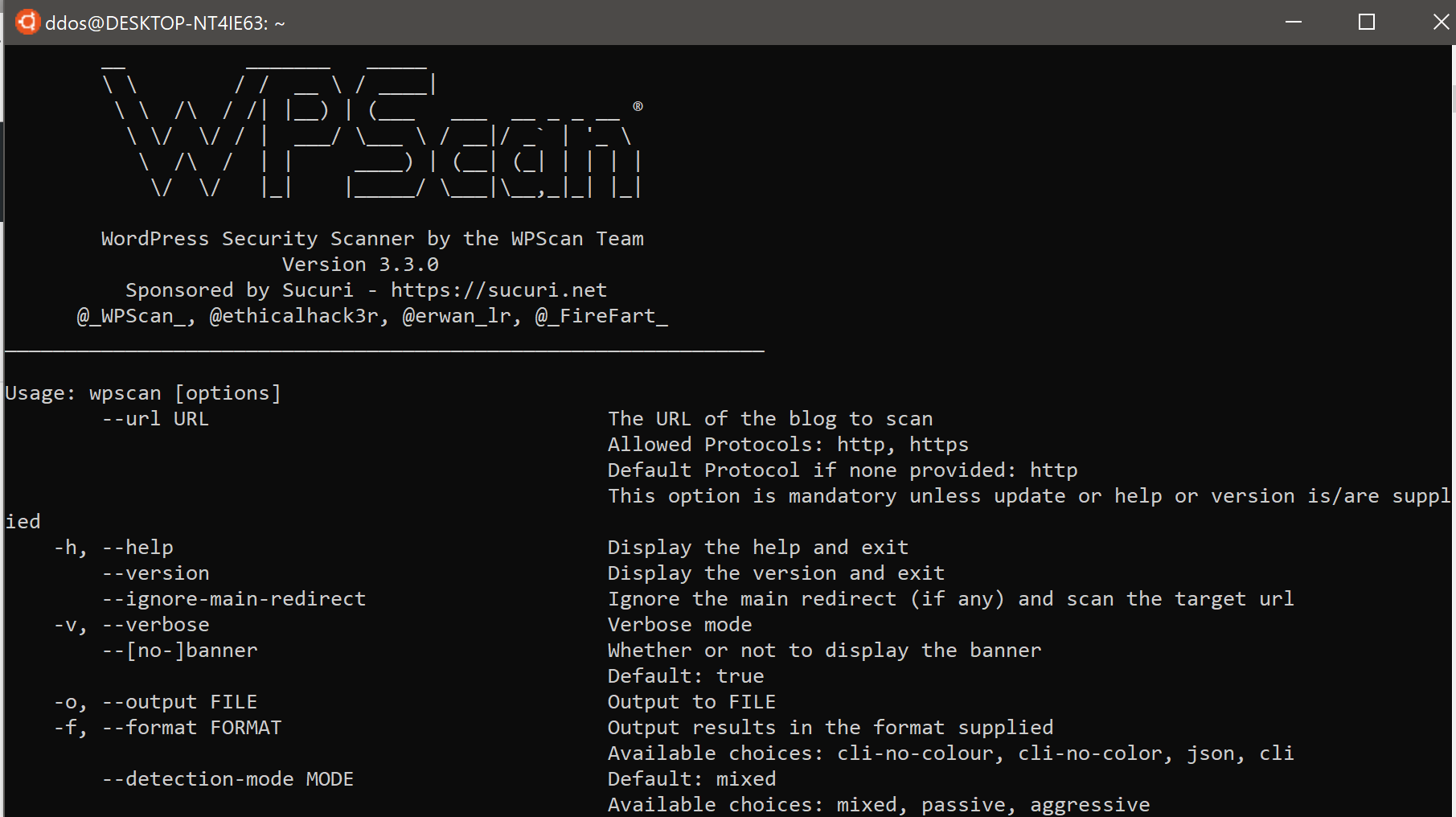 wpscan v3.7.7 releases: black box WordPress vulnerability scanner