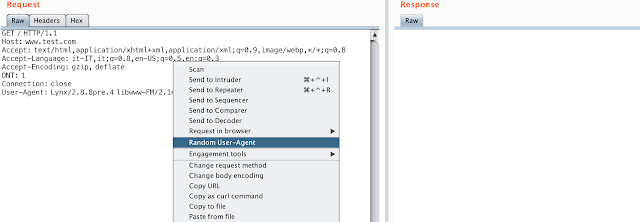 BurpSuite Random User-Agents - Burp Suite Extension For Generate A Random User-Agents