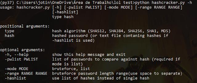 Hashcracker – Python Hash Cracker