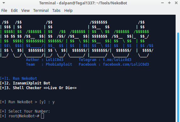 NekoBot - Auto Exploiter With 500+ Exploit 2000+ Shell