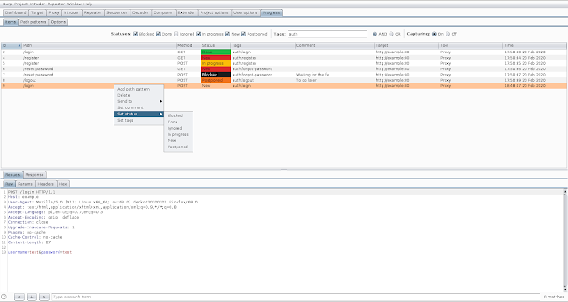 Progress-Burp - Burp Suite Extension To Track Vulnerability Assessment Progress