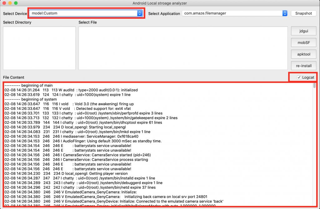 android_application_analyzer: analyze the content of the android application in local storage