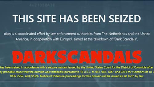 """Child Abuse Site """"DarkScandals"""" Seized by Europol"""