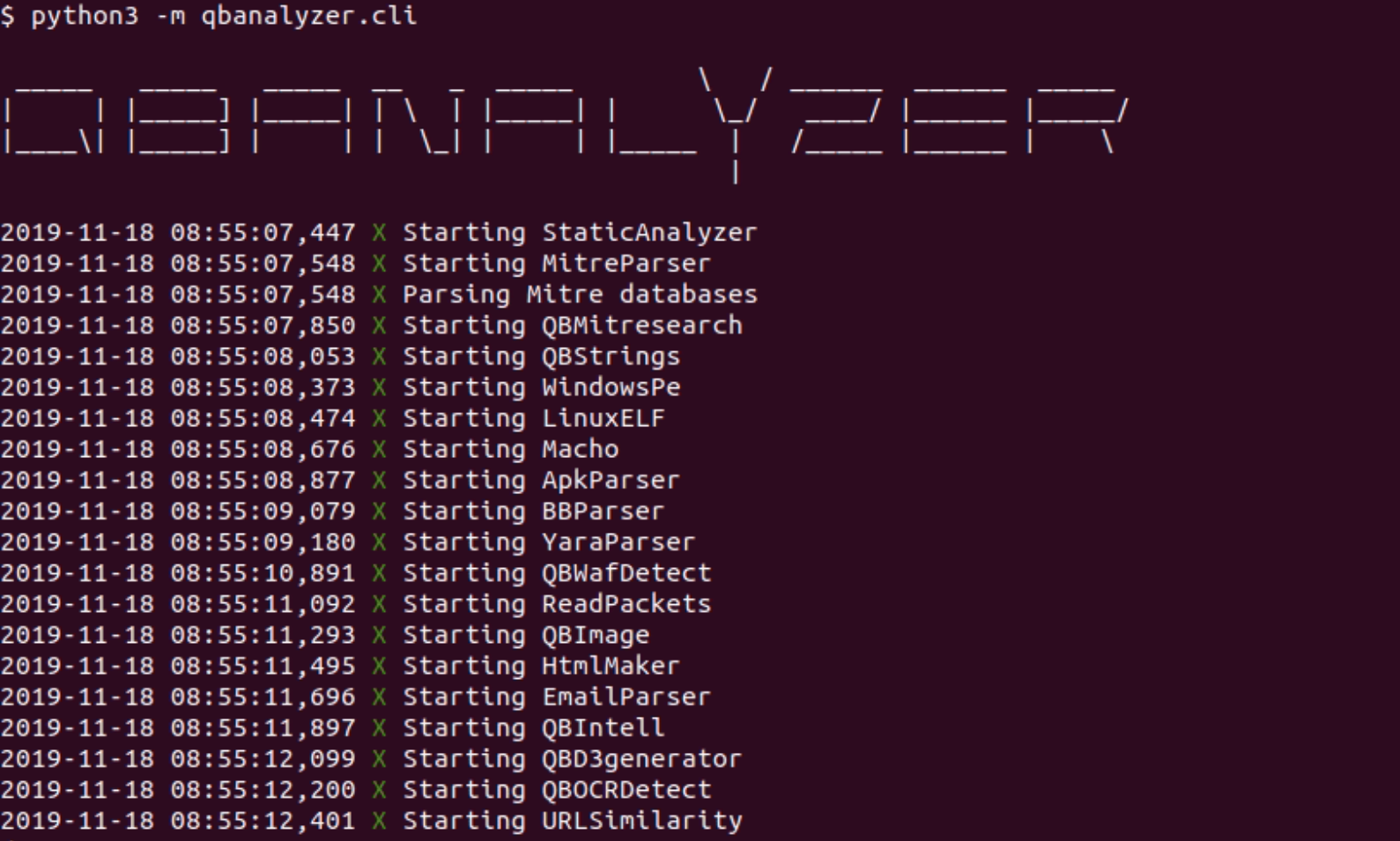 QBAnalyzer: Open source threat intelligence framework