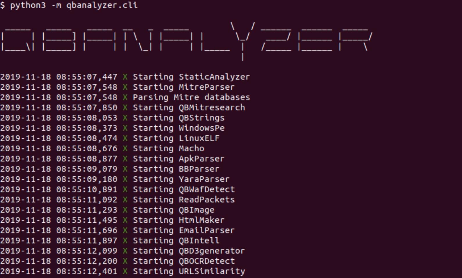 QBAnalyzer: Open source threat intelligence framework