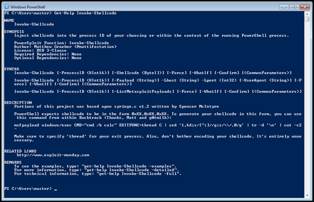 PowerSploit – A PowerShell Post-Exploitation Framework
