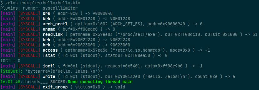 zelos v0.1 releases: comprehensive binary emulation and instrumentation platform