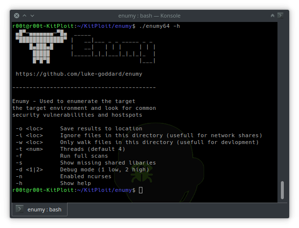 Enumy - Linux Post Exploitation Privilege Escalation Enumeration