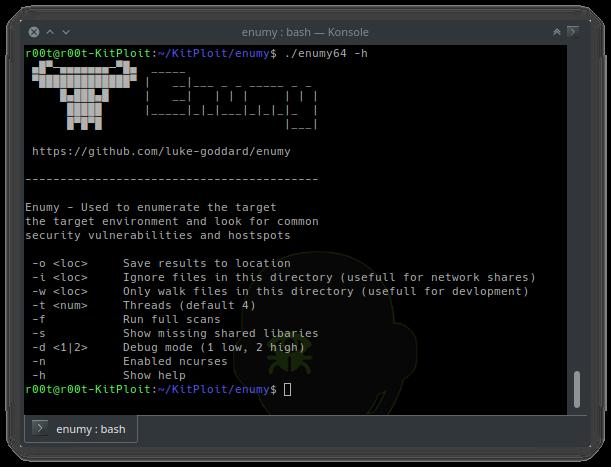 Enumy – Linux Post Exploitation Privilege Escalation Enumeration