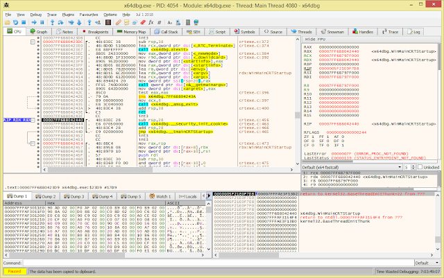 X64Dbg – An Open-Source X64/X32 Debugger For Windows